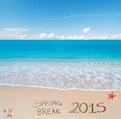 spring break 2015 on the sand