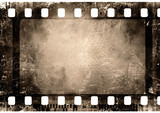 35 mm film strip poster