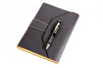 luxury organizer with pen