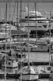 Italy; 19 february 2015, yachts being refurbished - EDITORIAL poster