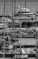 Italy; 19 february 2015, yachts being refurbished - EDITORIAL