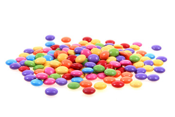 color candy isolated