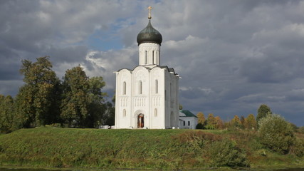 Church of  Intercession of Holy Virgin on Nerl River,