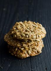 Sunflower seeds cookies