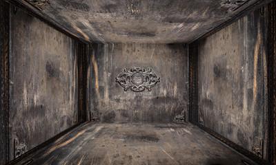 Wooden and Iron Ancient Door