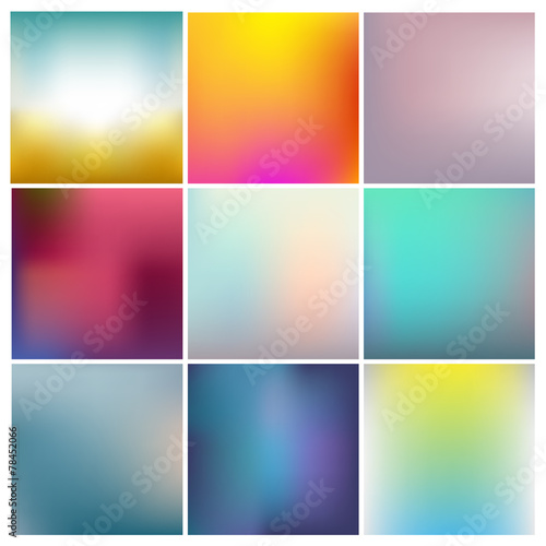 vector set of abstract - 78452066