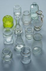 Multiple types of bottles