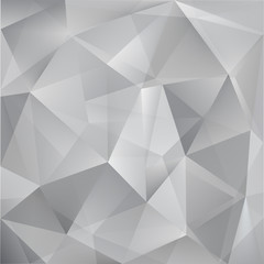 abstract vector triangle grey background