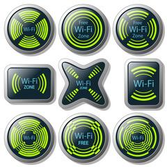 Wireless communication button