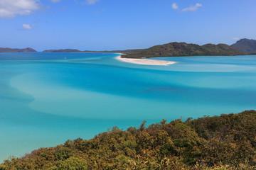 L'ile des Whithsunday en Australie