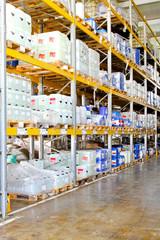 Chemical storage rack