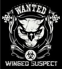 Winged suspect