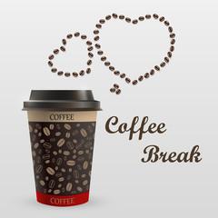 Coffee mug with a message