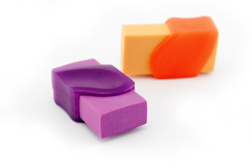 Two erasers