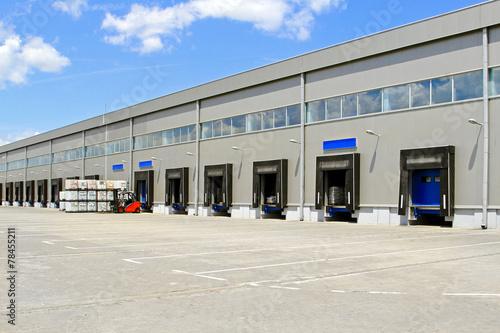 Zdjęcia na płótnie, fototapety, obrazy : Warehouse cargo doors