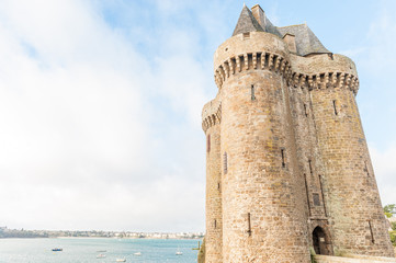 France, Brittany, Saint Malo, Solidor Tower