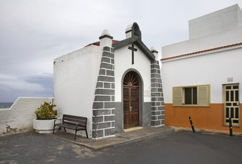 Chapel In Punta Brava. Tenerife. Canary Islands. Spain
