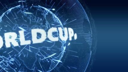 World News Worldcup Globe Intro Teaser blue