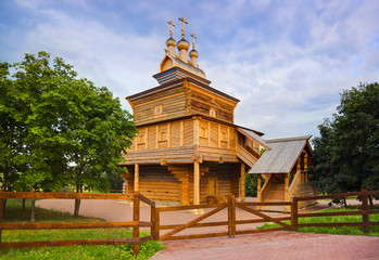 Wooden church in Kolomenskoe - Moscow Russia
