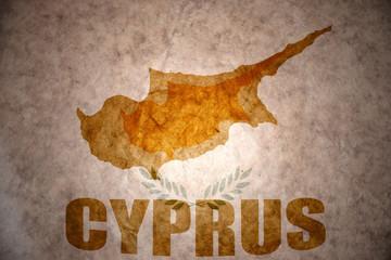 Vintage cyprus map