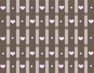 Love grey background