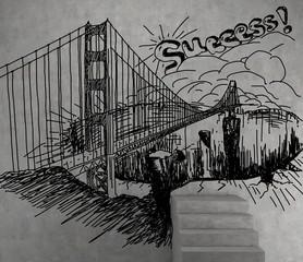 drawing bridge