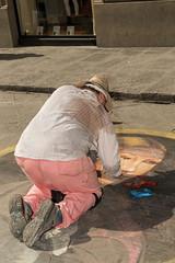 Pintor callejero.