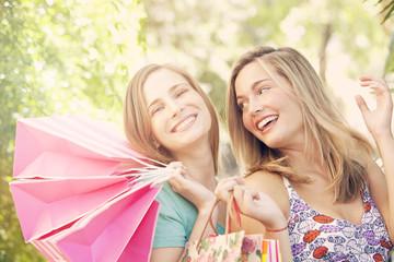 Happy Friends Shopping