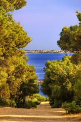 Costa del Salento: riserva di Porto Selvaggio.- (Puglia) ITALIA-