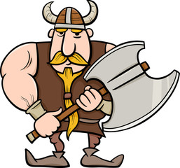viking cartoon illustration