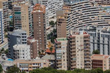 Modern city in Spain.