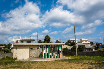 伊計島の集落