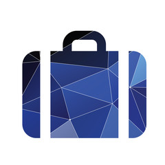 Case icon Abstract Triangle background