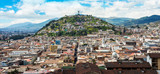 Historical center of old town Quito