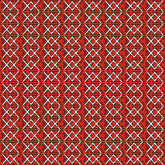 red vintage seamless pattern