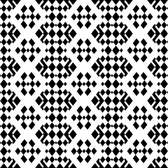 retro monochrome geometric seamless pattern