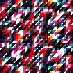retro red pixel seamless texture