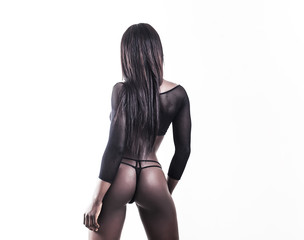 African model back and butt
