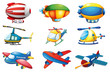 Planes and Balloons