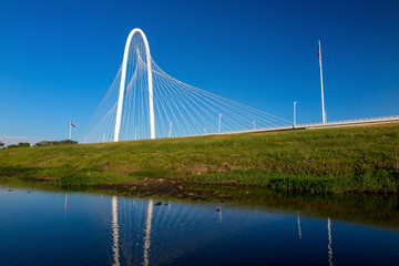 Margaret Hunt Hill Bridge in Dallas