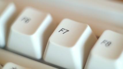 PC Keyboard Typing