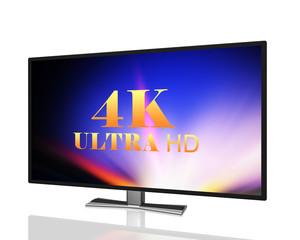 abstract ultra high definition digital television  4K UltraHD TV
