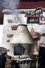 Worship in Tibet