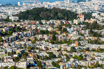 Twin Peaks, San Francisco, California, USA