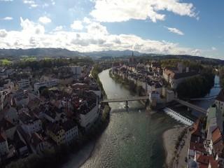 Flugaufnahme Steyr Stadt