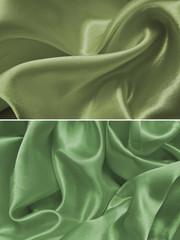 Set satin fabric texture background