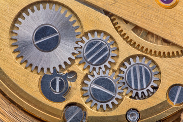 gold and silver clockworks macro