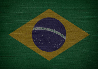 fabric flags brazil