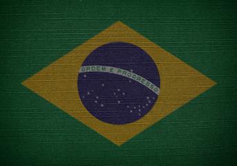 fabric flags brazil