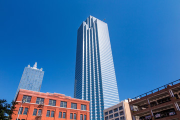 Bank of America Plaza building in Dallas